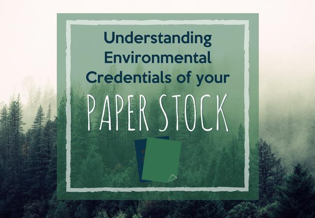 Understanding Environmental Credentials of your