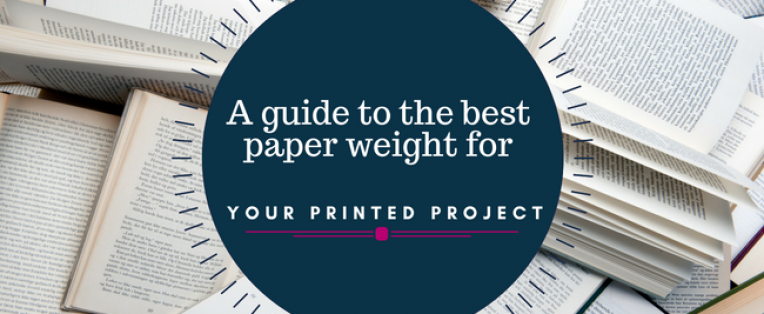 Ideal Paper Weights for Printing